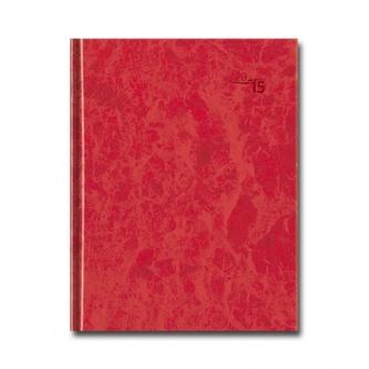 D - Denný diár PRAKTIK - červený