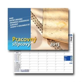 K - Pracovný kalendár stĺpcový 2015 S28