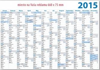 K- Plánovací kalendár 2015 - jednolistový P03