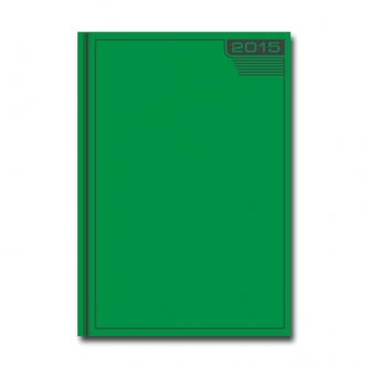 Pracovný diár- VENETIA- zelený 2015 D39