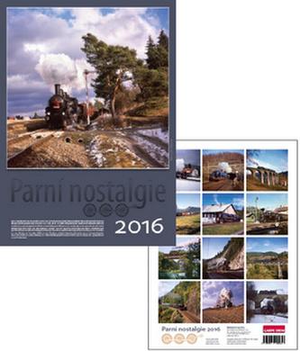 Parní nostalgie 2016 - nástěnný kalendář