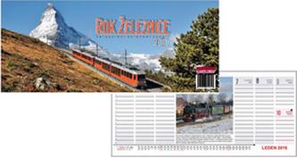Rok železnice 2016 - stolní kalendář