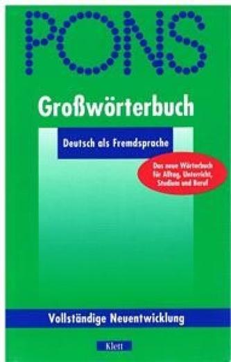 PONS-Großwörterbuch