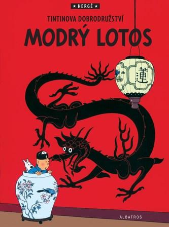 Modrý lotos - Tintinova dobrodružství