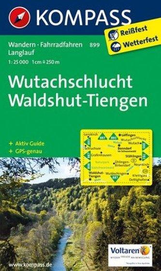 Kompass Karte Wutachschlucht, Waldshut-Tiengen