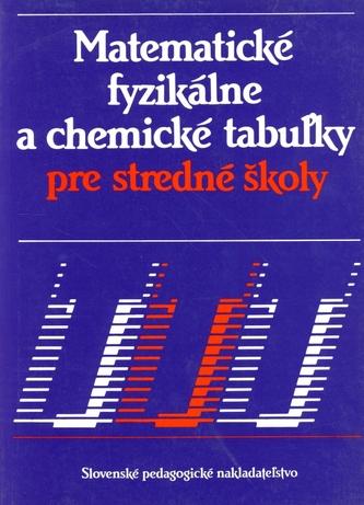 Matematické, fyzikálne a chemické tabuľky pre SŠ