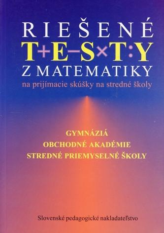 Riešené testy z matematiky