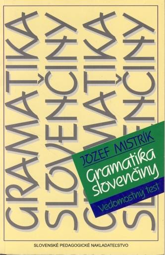 Gramatika slovenčiny