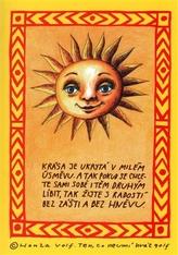Sada sluníčkových pohlednic