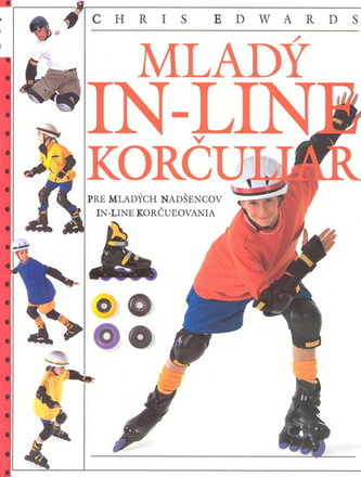 Mladý in-line korčuliar