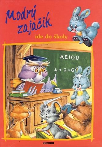 Modrý zajačik ide do školy