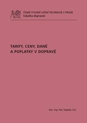 Tarify, ceny, daně a poplatky v dopravě