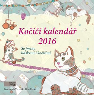 Kočičí kaledář 2016