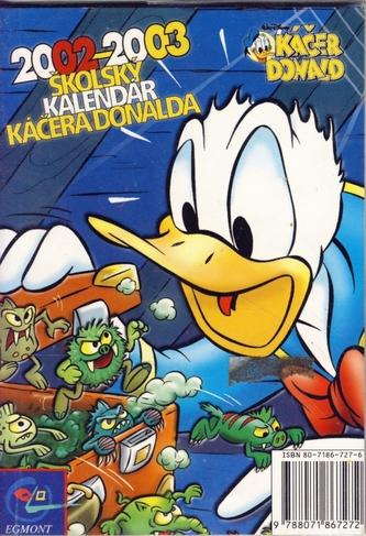 Školský kalendár Káčera Donalda 2002-2003