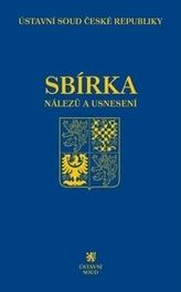 Sbírka nálezů a usnesení ÚS ČR, svazek 72 (vč. CD)