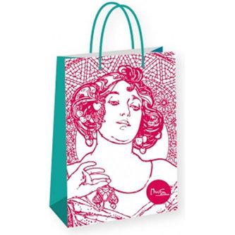Alfons Mucha - Ruby - dárková taška velká