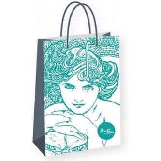 Alfons Mucha - Emerald - dárková taška střední