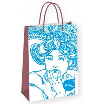 Alfons Mucha - Topaz - dárková taška střední