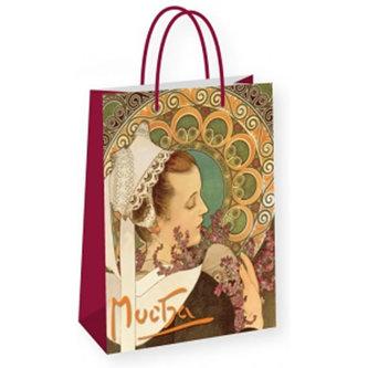 Alfons Mucha - Heather - dárková taška velká
