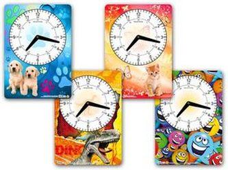 Dětské hodiny s obrázkem mix vzorů