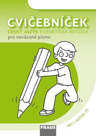 Cvičebníček - Genetická metoda nevázané písmo Sassoon pro 1. ročník ZŠ