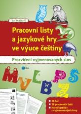 Pracovní listy a jazykové hry ve výuce češtiny
