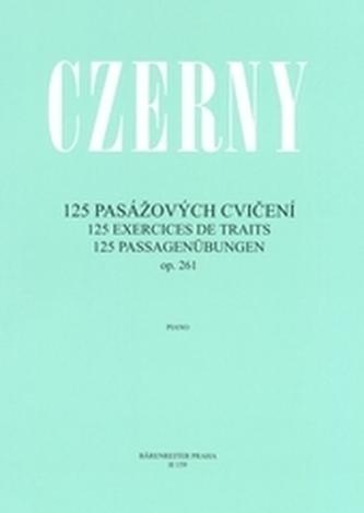 125 pasážových cvičení op. 261 - Náhled učebnice