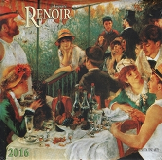Nástěnný kalendář - Auguste Renoir 2016