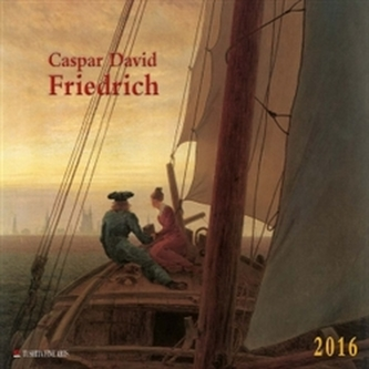 Nástěnný kalendář - Casper David Friedrich 2016