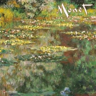 Nástěnný kalendář - Claude Monet 2016