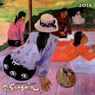 Nástěnný kalendář - Paul Gaugin - Paradise Lost 2016