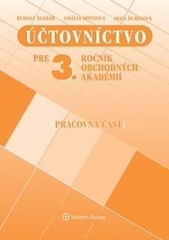 Účtovníctvo pre 3. ročník OA - pracovná časť, 13. prepracované vydanie