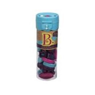 Spojovací korále a tvary Beauty Pops 50 ks fialové/tyrkysové