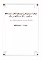 Dějiny literatury od středověku do počátku 19. století