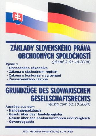 Základy slovenského práva obchodných spoločností