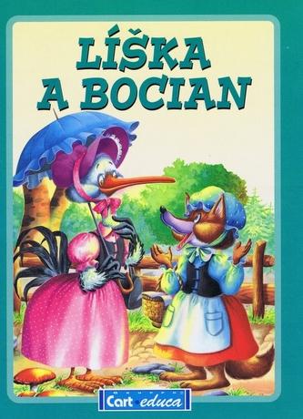 Líška a bocian