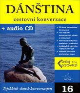 Dánština cestovní konverzace + CD