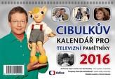 Cibulkův kalendář pro televizní pamětníky 2016