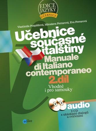 Učebnice současné italštiny, 2. díl + mp3