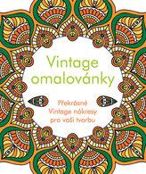 Vintage omalovánky - Překrásné Vintage nákresy pro vaši tvorbu