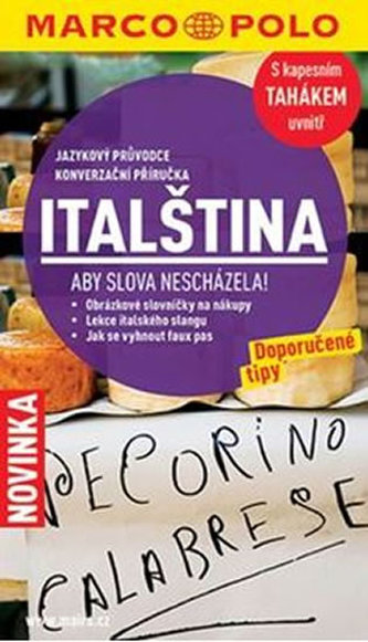 Jazykový průvodce a konverzace - italština MD