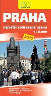 Praha 2015. Největší zobrazené území