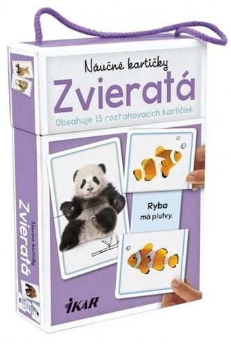 Náučné kartičky – Zvieratá - Linda Perina