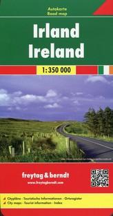 Automapa Irsko 1:350 000