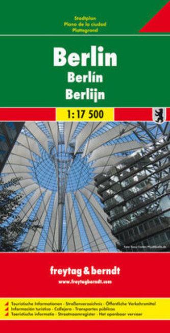 Freytag & Berndt Stadtplan Berlin. Berlino. Berlijn
