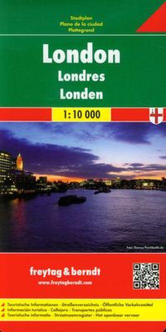 Londyn plan miasta 1:10 000