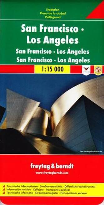 San Francisco - Los Angeles 1:15 000
