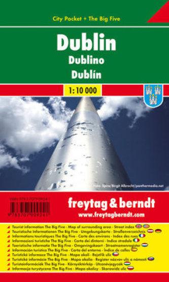 Freytag & Berndt Stadtplan Dublin. Dublino