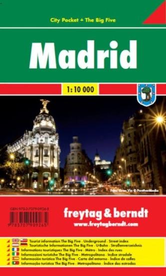 Madrid / city plan 1:10 000