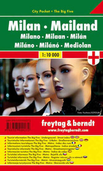 Milano / city pocket 1:10 000